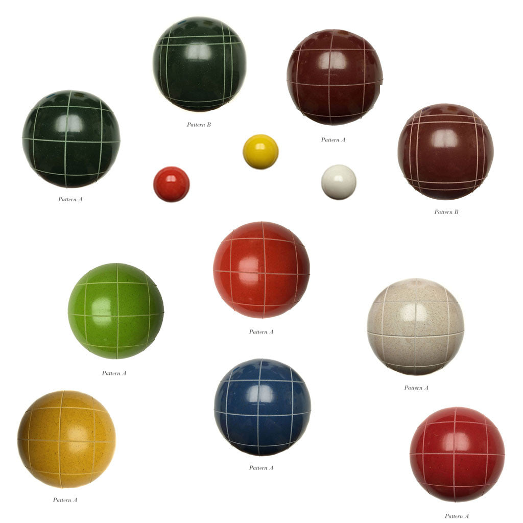110mm Tournament Mix & Match Bocce Ball Set