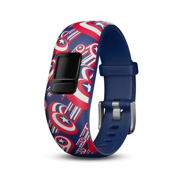 Garmin Accy Bands (Strap Only), vivofit jr2, Adjustable, Captain America