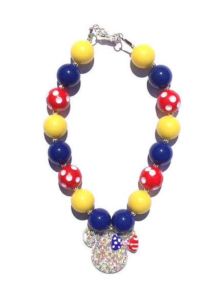 Children's Minnie Mouse Chunky Necklace
