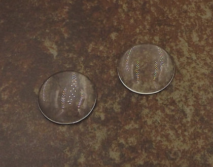 1 inch (25mm) Circle Glass