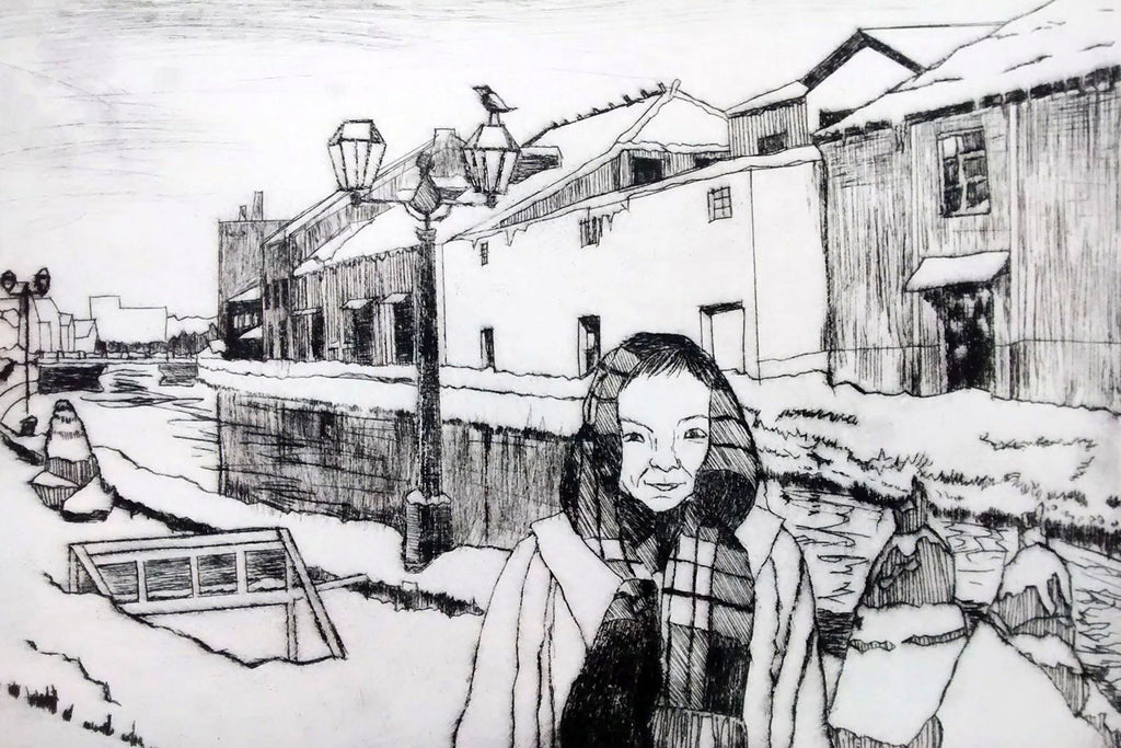 190127|27th January|Large Scale Drypoint Day