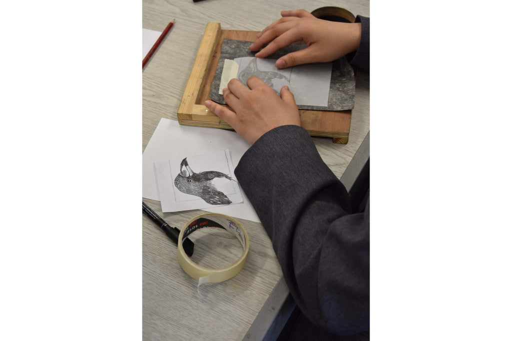 191018|18th October|Print Club for Young Printmakers aged 8 - 11