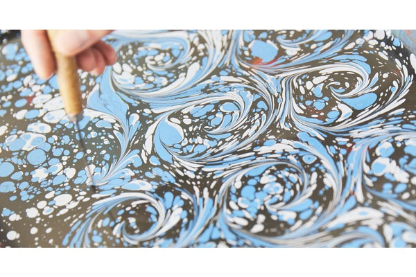 190706|6th & 7th July|The Art of Traditional Dye Making and Paper Marbling
