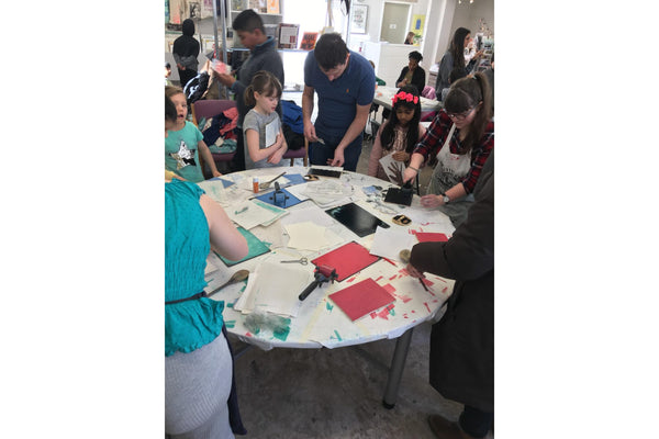 200414|14th April|Discover Printmaking for Printmakers aged 5+