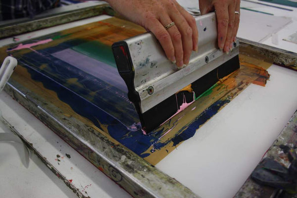 180925|25th September - 16th October|Silkscreen Evening Course