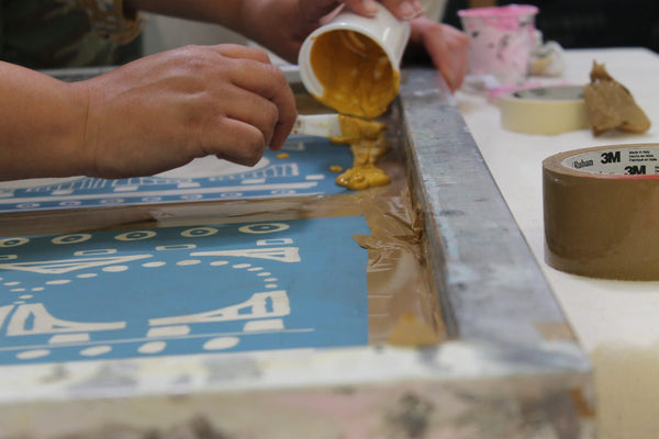 200208|8th February|Introduction to Textile Screenprinting