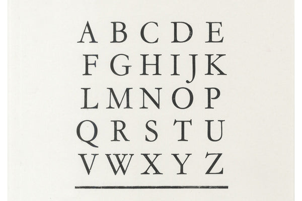 180513|13th May|Letterpress Taster