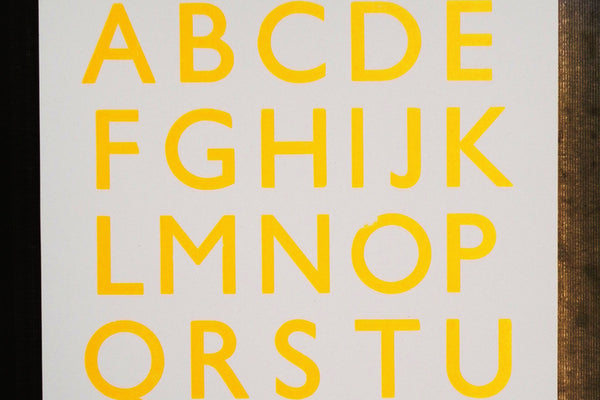 180513p|13th May|Letterpress Taster