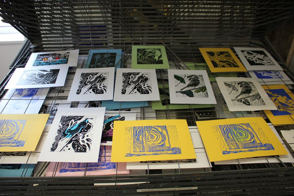 190915|15th September|Introduction to Linocut