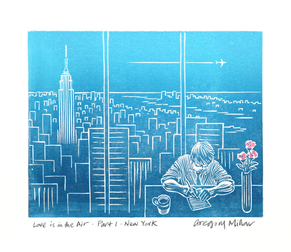 Gregory Millar, Love is in the Air - Part 1 - New York