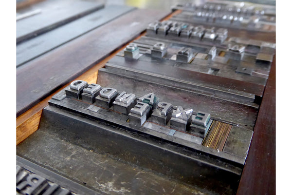 210720|20th - 24th July|Letterpress and Books Summer School