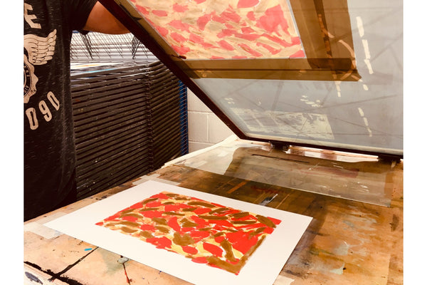 200808|8th and 9th August|Print like Warhol: Experimental Photo Screenprinting