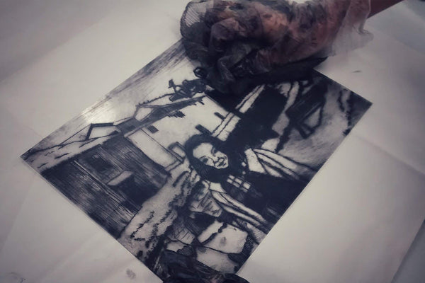 201025|25th October|Introduction to Drypoint