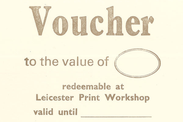 Printmaking Gift Voucher