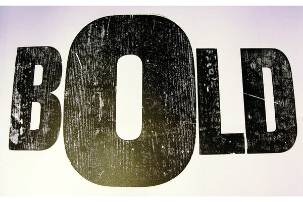 201206|6th December|Experiments with Wooden Type