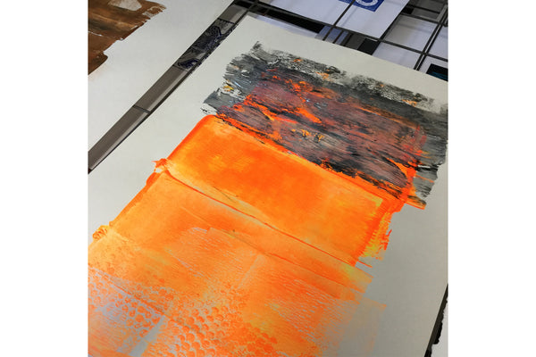 200220|20th February|Mini Monoprint for Printmakers aged 5-12