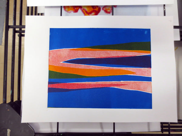 190611|11th June - 16th July|Tuesday Print Club - Monoprint