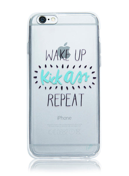 Wake Up Kick Ass - iPhone 6/6S Case