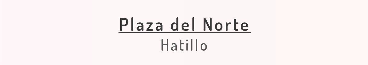 Plaza del Norte, Hatillo