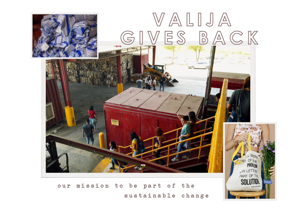 Valija gives back