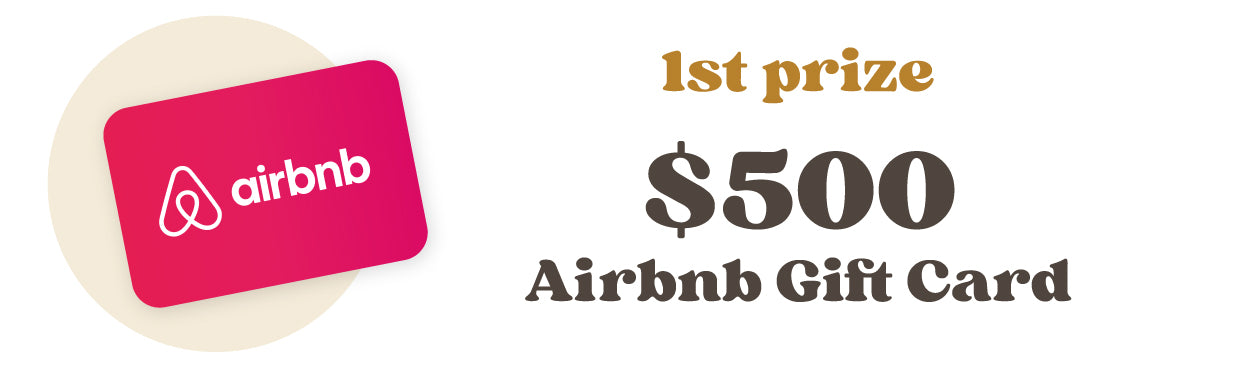 $500 Airbnb Gift Card