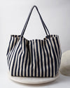 Stripe Beach Bag