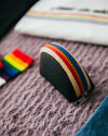 Rainbow Triple Coin Purse