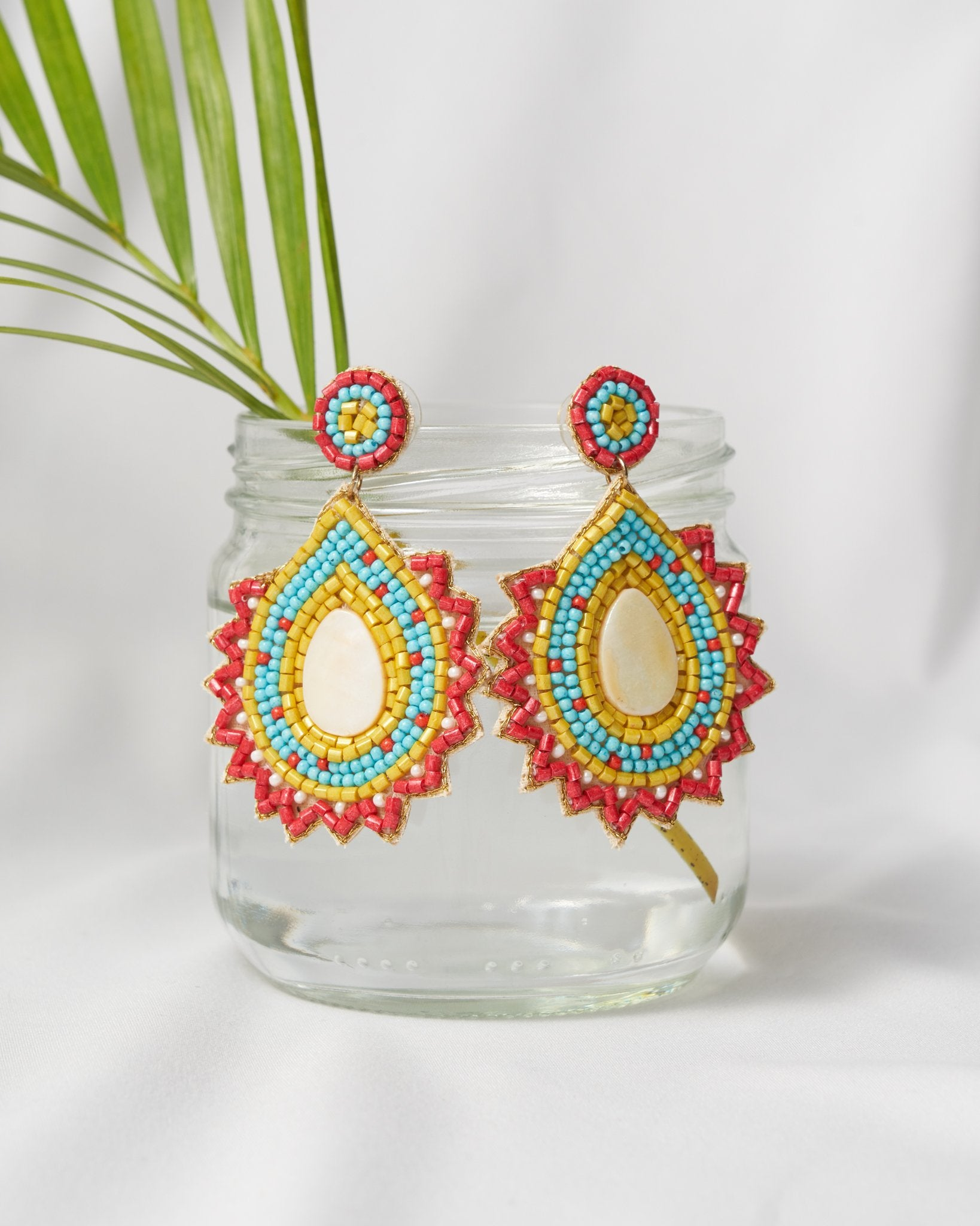 Madma Beaded Earring