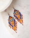 Beaded Fringes Earrings