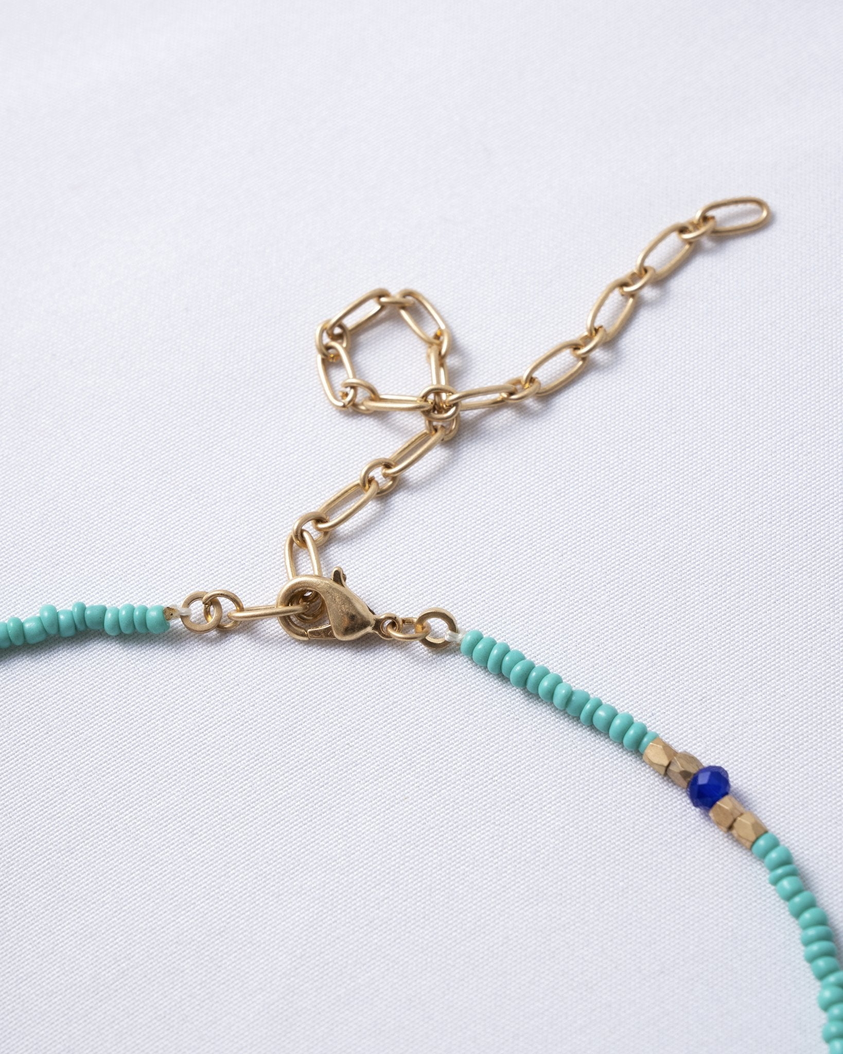 Endless Summer Beaded Necklace