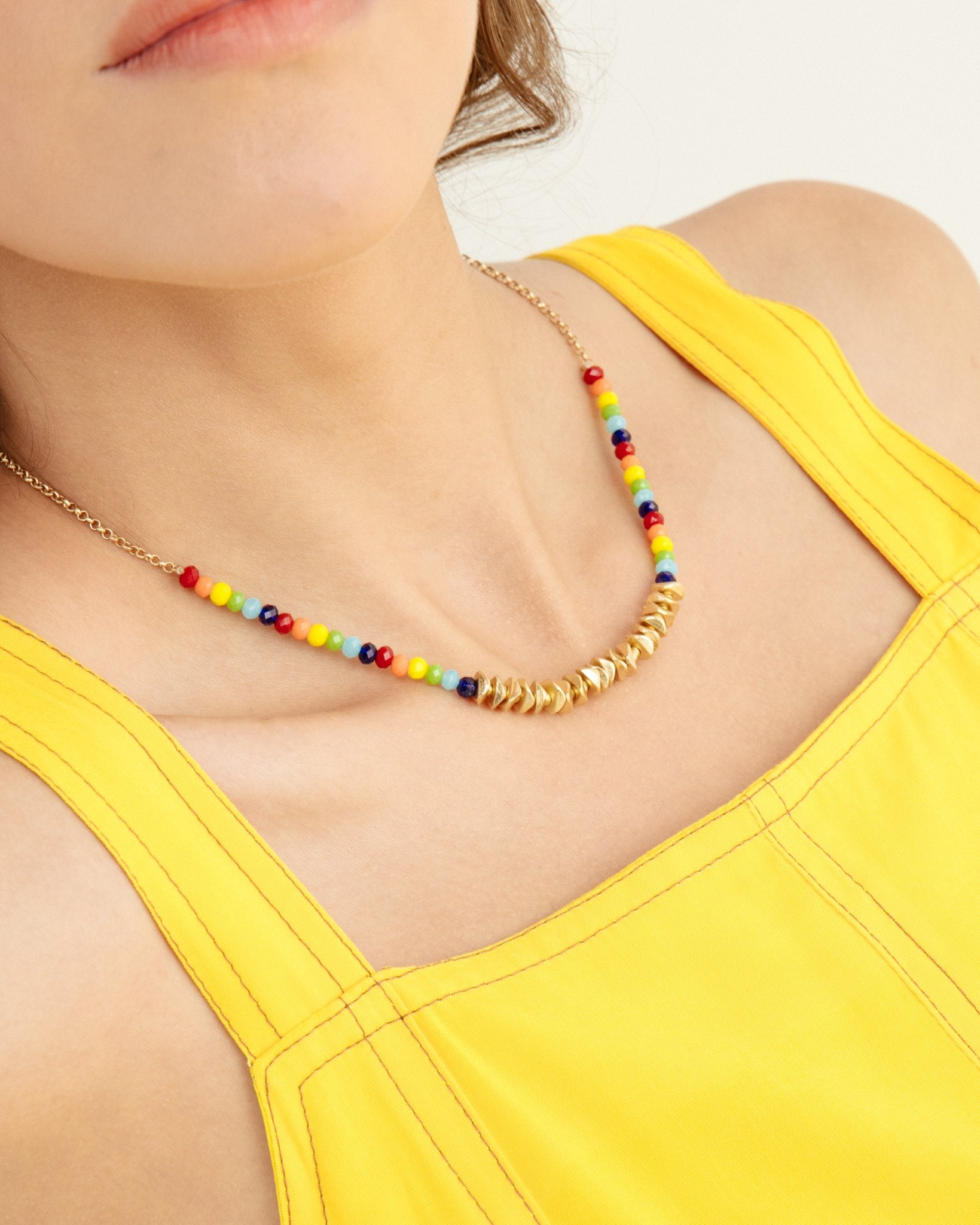 Multicolored Simple Necklace