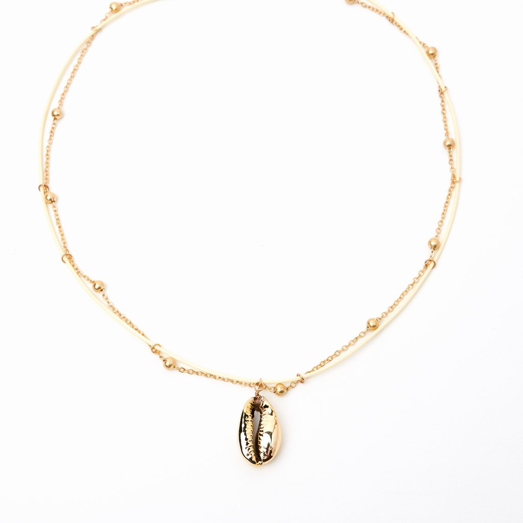 Yash Summer Shell Necklace