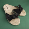 ROMANTIC BOW ROPE SANDAL