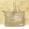 LOVE YOUR ITEMS JUTE BAG