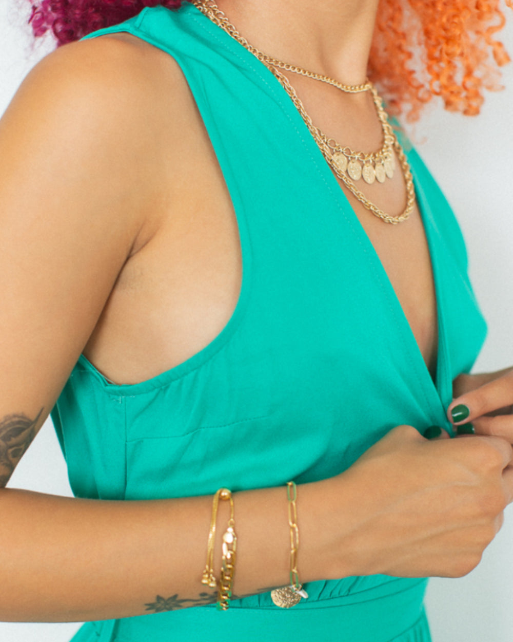 Ruddy Layered Necklace