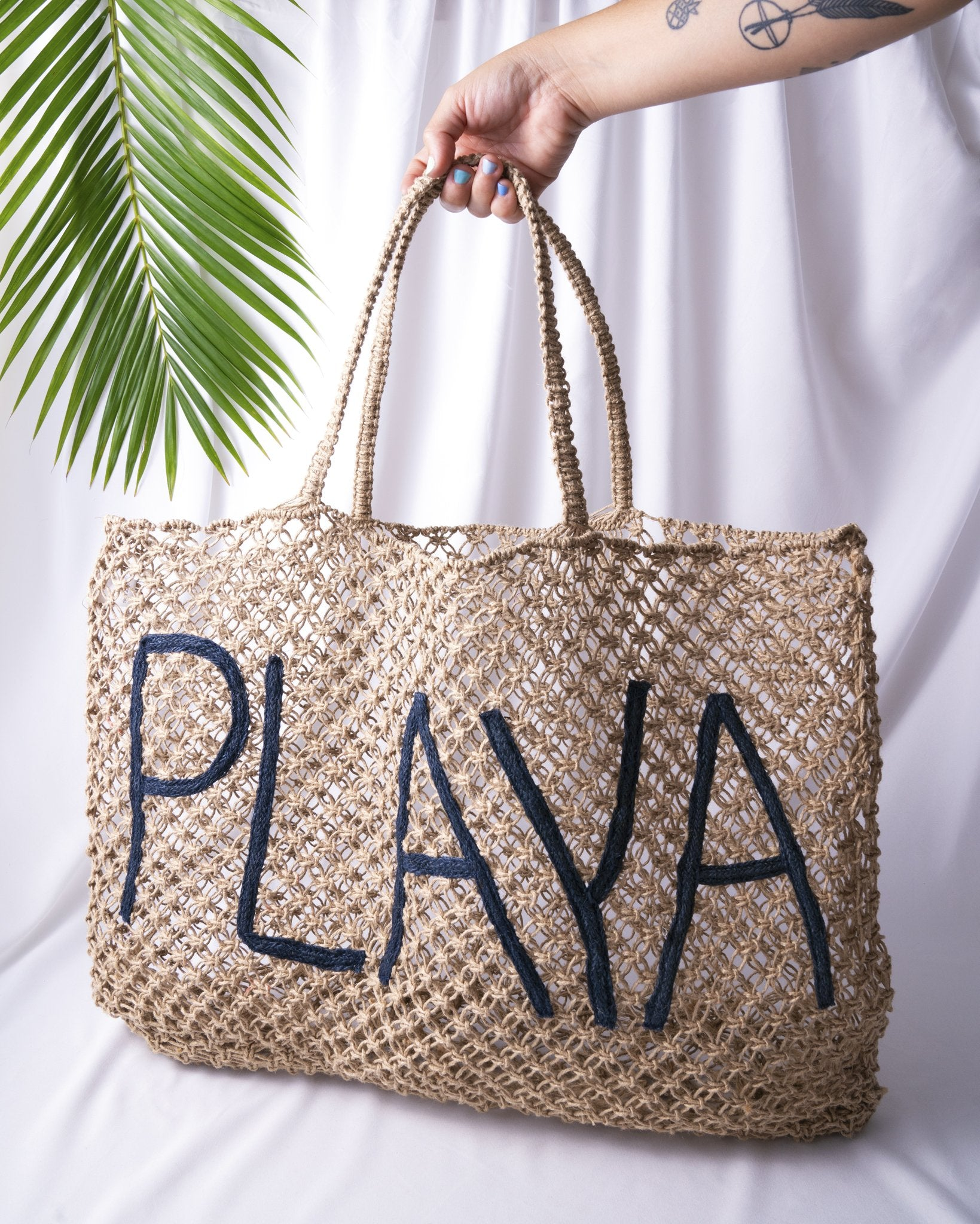 Playa Jute Beach Bag