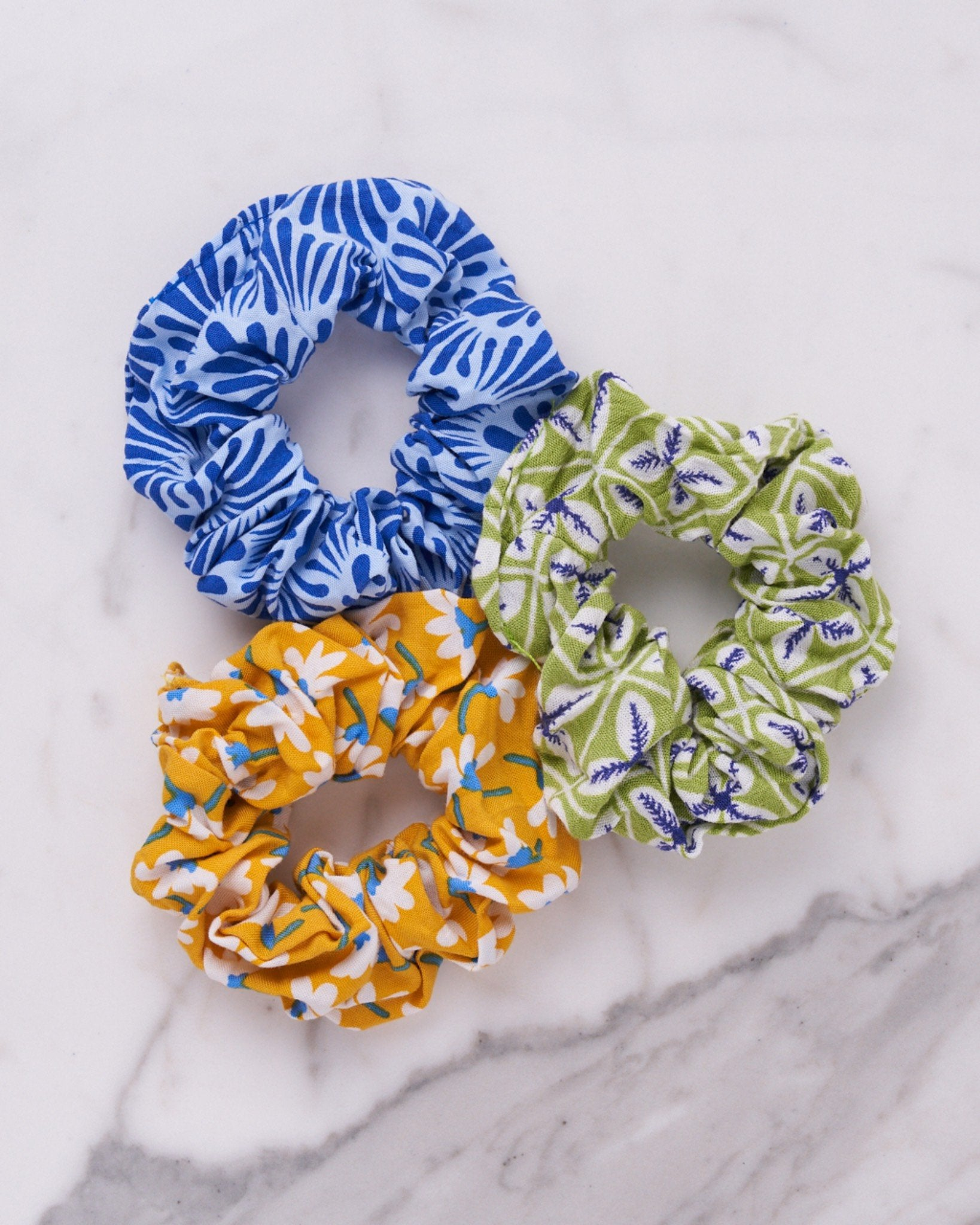 Zero Waste Scrunchies