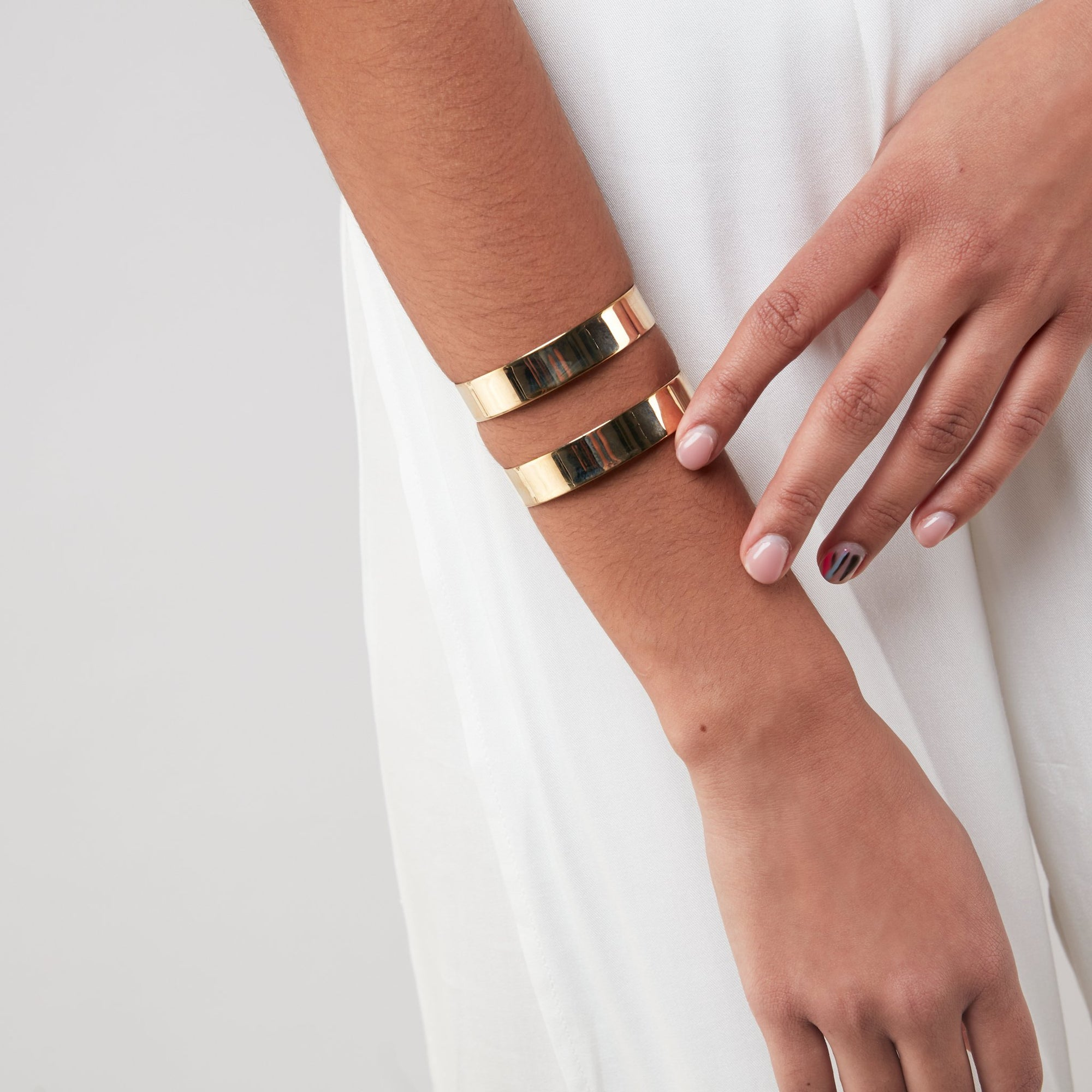 Wide Cut Out Cuff
