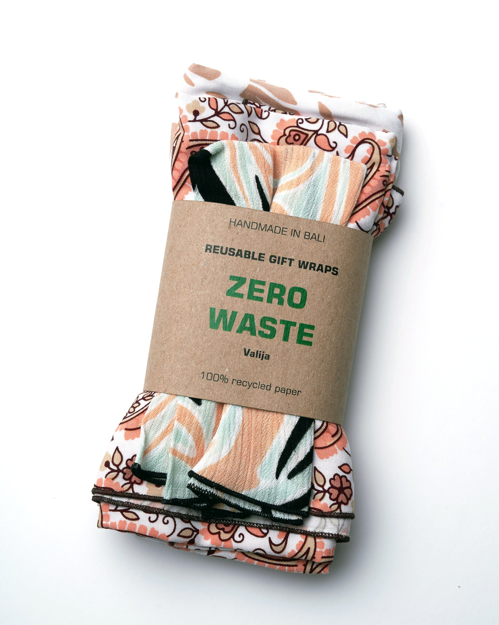 Zero Waste Reusable Gift Wraps