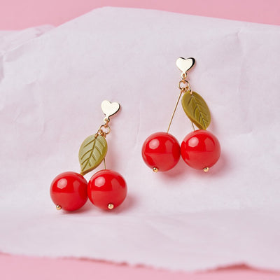 SO FRUITY HEART EARRING