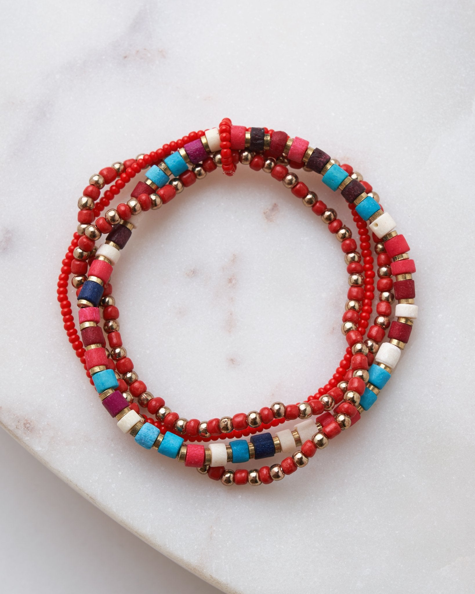 Kimpa Beaded Bracelet Set