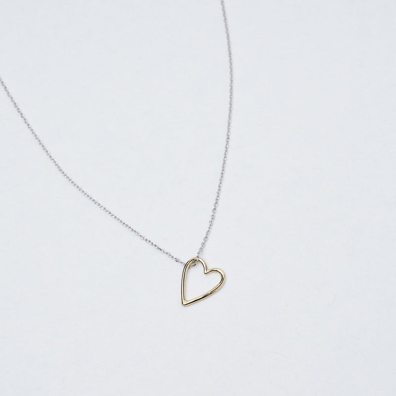 LOOSE HEART NECKLACE