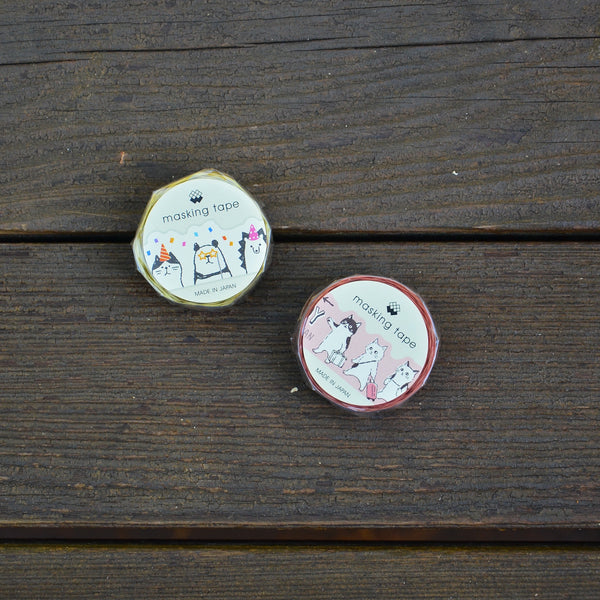 Mind Wave 紙膠帶 動物系列 | Animals Washi Tape