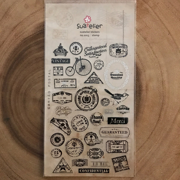 Suatelier Sonia Stickers Stamp and Label Series | Suatelier Sonia貼紙 郵戳標籤系列
