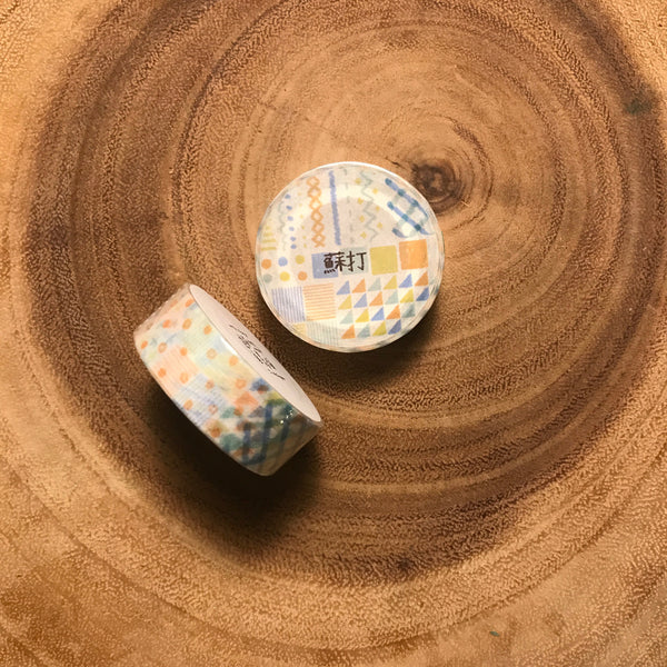 Picnic Tablle Washi Tape Season Blessing Collection | 野餐桌紙膠帶 四季小福系列