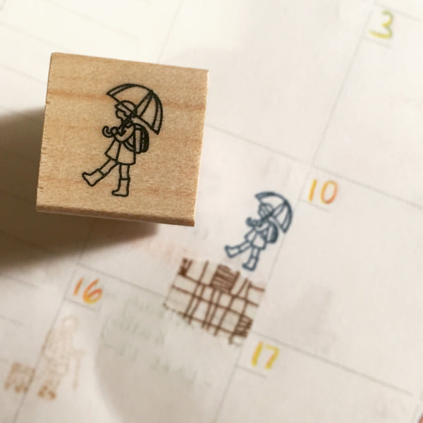 Plain Daily Life Stamp Collection | 直物 本日印章