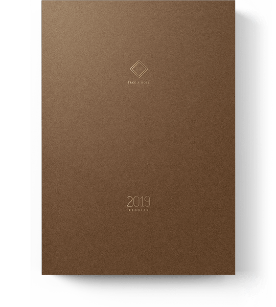 Take A Note 2019 Regular Planner | Take A Note 2019 英文版日誌