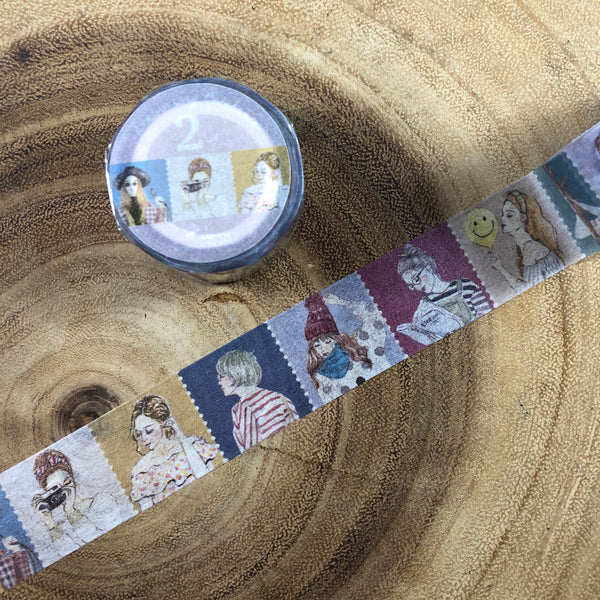 Pion Washi Tape, 2nd Anniversary Celebrate | Pion紙膠帶, 2週年紀念款