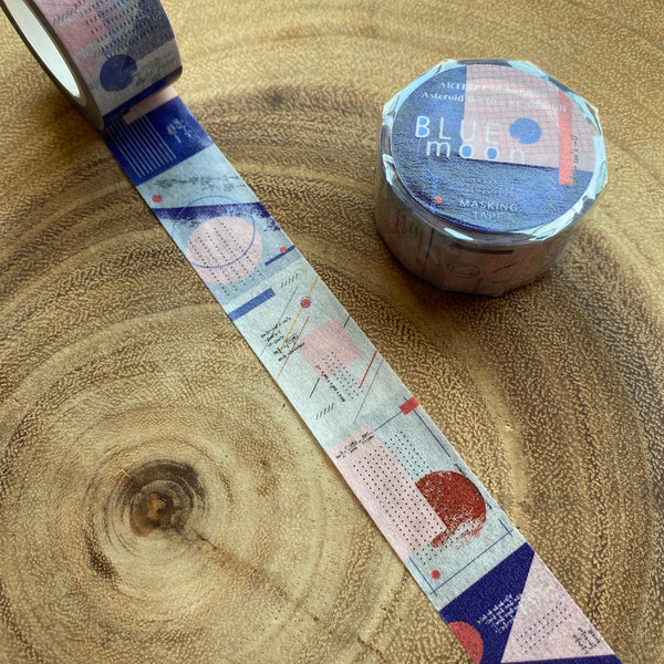 Asteroid B-610 Washi Tape, Practice of Colours Series | 小行星B610紙膠帶 顏色色彩練習所系列