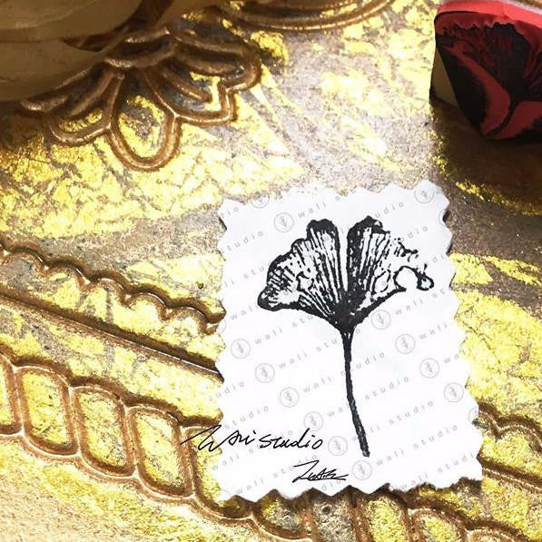 Wali Studio Dried Flowers and Leaves Stamp | 乾花樹葉印章